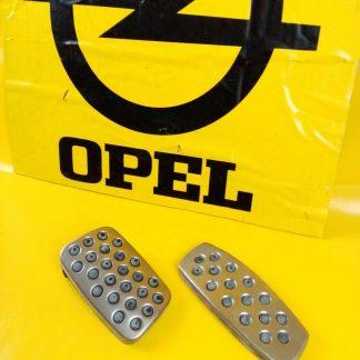 NEU + ORIG GM Alu Pedalbezüge Automatik Opel Astra J + K Insignia A + B Zafira C