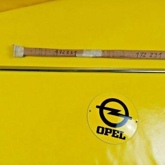 NEU + ORIG Opel Admiral Diplomat Kapitän A Zierleiste Dach Chrom hinten rechts