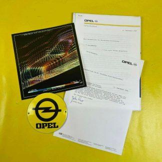 ORIGINAL OPEL Broschüre + Werksfotos, Aerodynamik 1989, Prospekt, Sammler,