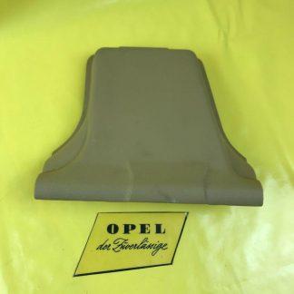 NEU + ORIG Opel Ascona C Verkleidung Deckel links Abdeckung Anschnallgurt beige