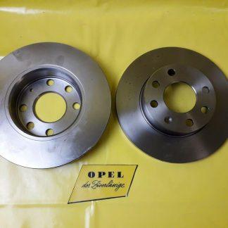 NEU + ORIGINAL Opel Kadett E Vectra A Corsa A B Astra F Satz Bremsscheiben vorne