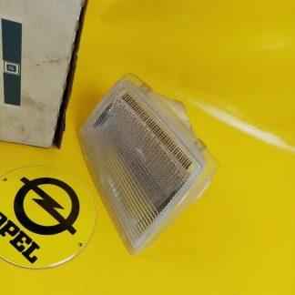 NEU + ORIGINAL GM Opel Monza A2 Senator A 2 Blinker links weiß Blinkleuchte