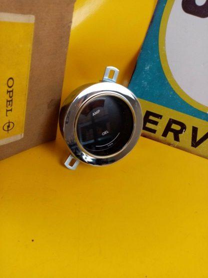 NEU + ORIG Opel GT Anzeige Ampere Öldruck 1,9 Chrom Anzeigeninstrument