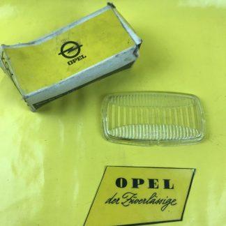 NEU + ORIG Opel Rekord C Commodore A Glas Nebelscheinwerfer Hassia Glasscheibe