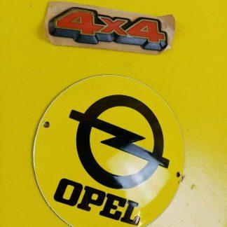 NEU + ORIG GM Opel Calibra Vectra A Turbo 4x4 Emblem Schrift Zeichen Schriftzug