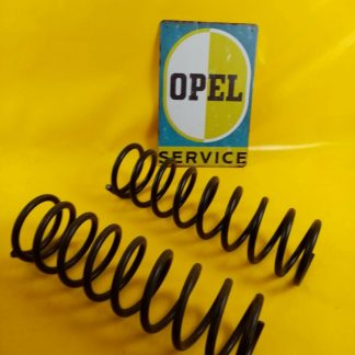 NEU + ORIG Opel Kadett C 1,1 + 1,2 Liter Paar Federn verstärkt Vorderfedern