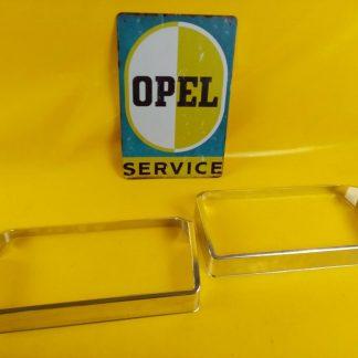 NEU + ORIG Opel Admiral Diplomat A 2,8 + 4,6 V8 Paar Blenden Scheinwerfer