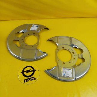 NEU + ORIG GM Opel Vectra C Signum Abdeckblech Bremsscheibe Ankerblech Blech