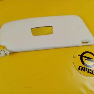 NEU + ORIG GM Opel Ascona C Sonnenblende rechts mit Spiegel Sun glender Glad
