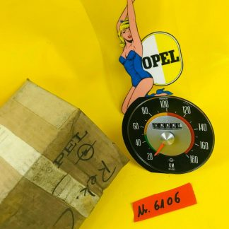 NEU + ORIG Opel Rekord C Tacho bis 180 Km/H / Wegdrehzahl = 632 Tachoeinheit NOS