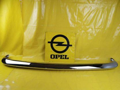 NEU Opel Kadett A Limousine Coupe Stoßstange Bumper Stoßfänger Chrom vorne