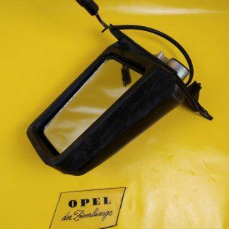 NEU + ORIG GM / Opel Ascona C Spiegel links schwarz elektrisch beheizbar Außen