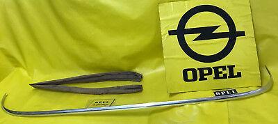 NEU ORIGINAL Opel Olympia Rekord P2 Zierleiste Heckscheibe Scheibe hinten Chrom
