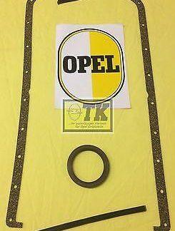 Ölwanne Dichtung Kurbelwelle CIH 6-Zyl Opel Admiral A B 2,5 2,8 Ölwannendichtung
