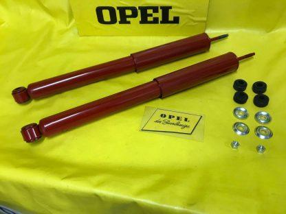 NEU Satz Gasdruck Stoßdämpfer Hinterachse Opel Rekord A / B / C alle Modelle