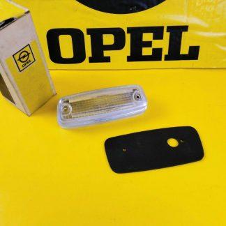 NEU + ORIGINAL Opel GT AL 1,9 Rückfahrscheinwerfer Glas Gummi Unterlage