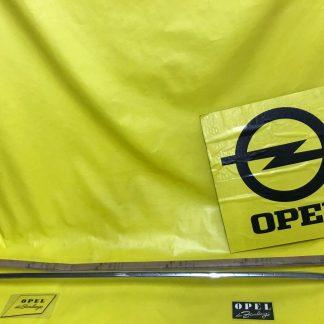 NEU + ORIGINAL OPEL Olympia Rekord Baujahr 1956 Zierleiste Kotflügel vorne links