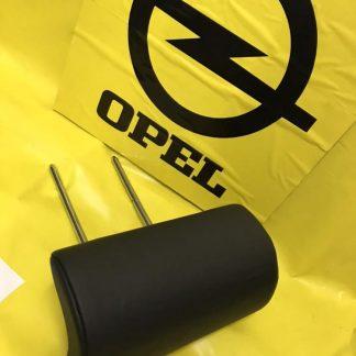 NEU + ORIGINAL OPEL Kopfstütze mitte schwarz Leder Omega B Caravan Kombi Lehne