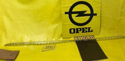 NEU + ORIGINAL Opel Rekord A Coupe Chrom Zierleiste Frontscheibe