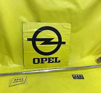 NEU + ORIGINAL Opel Olympia Rekord P1 Zierleiste Seitenwand hinten li. 2+4 türer