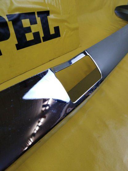 NEU Opel Kadett C Limousine Stoßstange hinten Version 1. Serie Stoßfänger Chrom