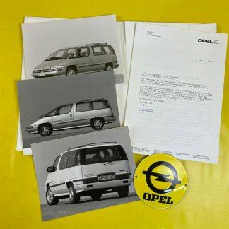ORIGINAL OPEL Broschüre+Werksfotos Opel / Pontiac Trans Port