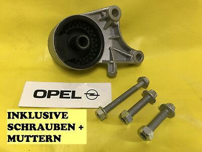NEU Motorlager vorne + SCHRAUBEN Opel Zafira A + Astra G 2,2 Diesel mit 125 PS