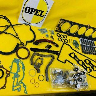 ERSATZTEILPAKET XXL Opel 3,0 24V Steuerkettensatz + Dichtungen C30SE 3,6 Lotus