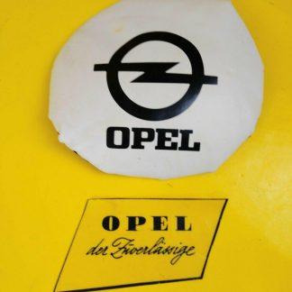 NEU + ORIG Opel Oldtimer Rallye Abdeckung Nebelscheinwerfer Kappen Deckel Tasche