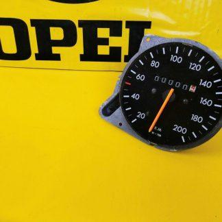NEU + ORIG Opel Rekord D / Commodore B Tacho Tachometer 200 km/h W=788