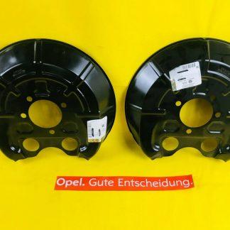 NEU ORIGINAL Opel Vectra C Signum 3,0 Ankerblech Set hinten Bremsscheibe Ø 295mm