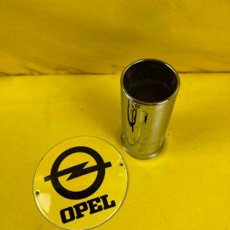 NEU + ORIGINAL Opel Diplomat B 5,4 V8 Chromblende Auspuff Ø 50 mm NOS V8 uni