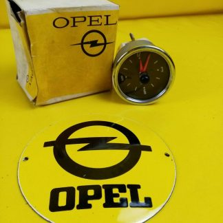 NEU + ORIG Opel Kadett B Rallye Zusatzarmatur Uhr