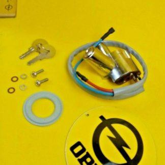 NEU + ORIG Opel Olympia Rekord P2 Lenkradschloss incl. Schlüssel + Befestigung