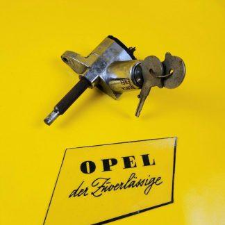 NEU + ORIG Opel Rekord P2 Coupe Limousine Kombi Lenkradschloss Schloss Lenkrad
