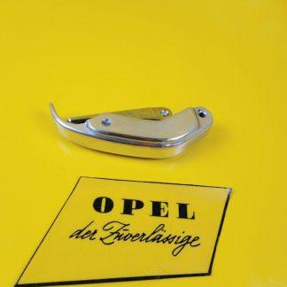 NEU + ORIGINAL Opel Olympia Rekord P1 Verschluss Fenster Chrom Ziehverschluss