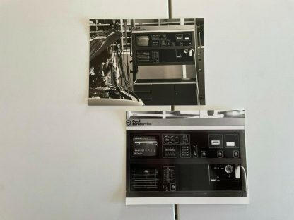 ORIGINAL OPEL Broschüre+Werksfotos, Pressemappe 51. IAA Frankfurt 85 Monza