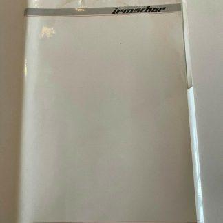 ORIGINAL OPEL Broschüre+ Werksfotos, Irmscher Katalog 41, Presseinformation