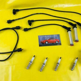 NEU + ORIGINAL OPEL Calibra Vectra A C20NE 20NE Zündkabelsatz Bosch + Zündkerzen