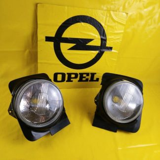 NEU + ORIGINAL Opel Kadett C Einbausatz Satz Scheinwerfer Zierringe Zierblende