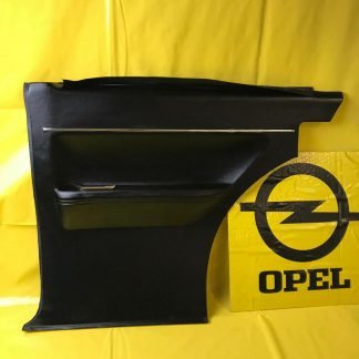 NEU ORIGINAL OPEL Olympia A Verkleidung rechts Seitenwand schwarz Zierleiste NOS