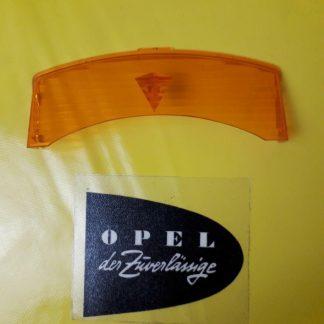 NEU + ORIGINAL Opel Kapitän Admiral Diplomat B Blinkerglas Blinker Lichtscheibe