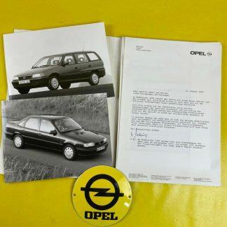 ORIGINAL OPEL Omega A Astra F Vectra A Senator B Broschüre + Werksfotos, Sammler