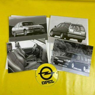 ORIGINAL OPEL Omega A, Broschüre + Werksfotos , Händlermappe, Sammler, Prospekt