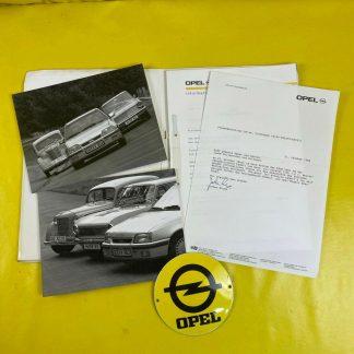 ORIGINAL OPEL Modellreihe Kadett 1936 1993, Broschüre + Werksfotos