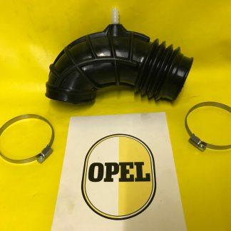 Ansaugschlauch Luftmengenmesser an Drosselklappenteil Opel 2,0E Cih + Schellen