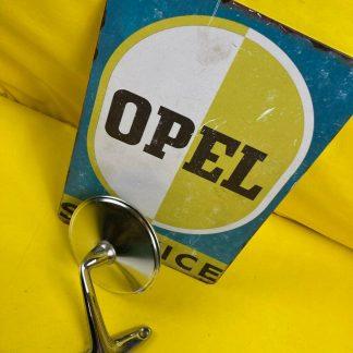 GEBRAUCHT + ORIGINAL Opel Manta A Ascona A Außenspiegel links chrom