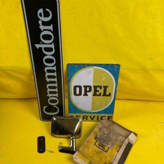 NEU + ORIGINAL Opel Rekord D Commodore B Außenspiegel rechts Chrom Coupe GSE