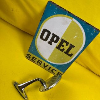 GEBRAUCHT + ORIGINAL Opel Rekord A B Außenspiegel Chrom links