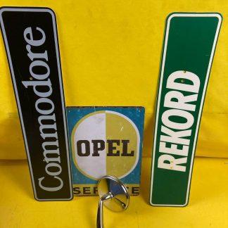 NEU + ORIGINAL Opel Rekord C Commodore A Kadett B Außenspiegel Chrom links